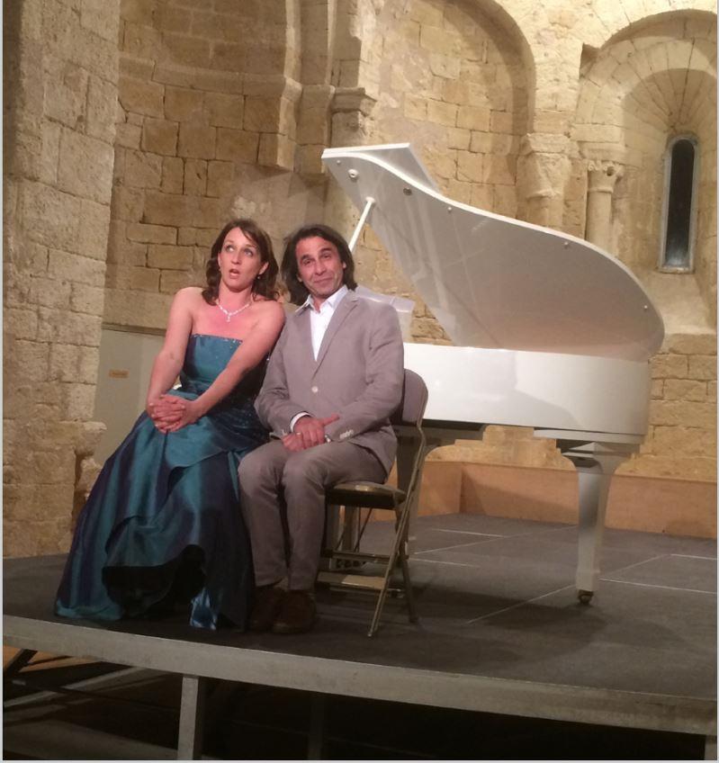 Soirée d'opéra à Gigean 2016 avec le baryton Jean Christophe Grégoire