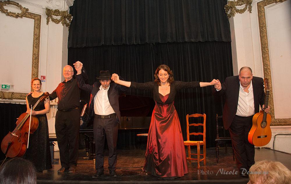 Flamenco rencontre le classique au Théâtre du Minotaure