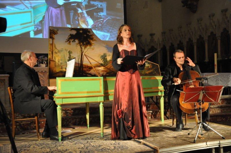 Concert à St Hyppolite avec Christopher Hainsworth et Daniel Brun 2012