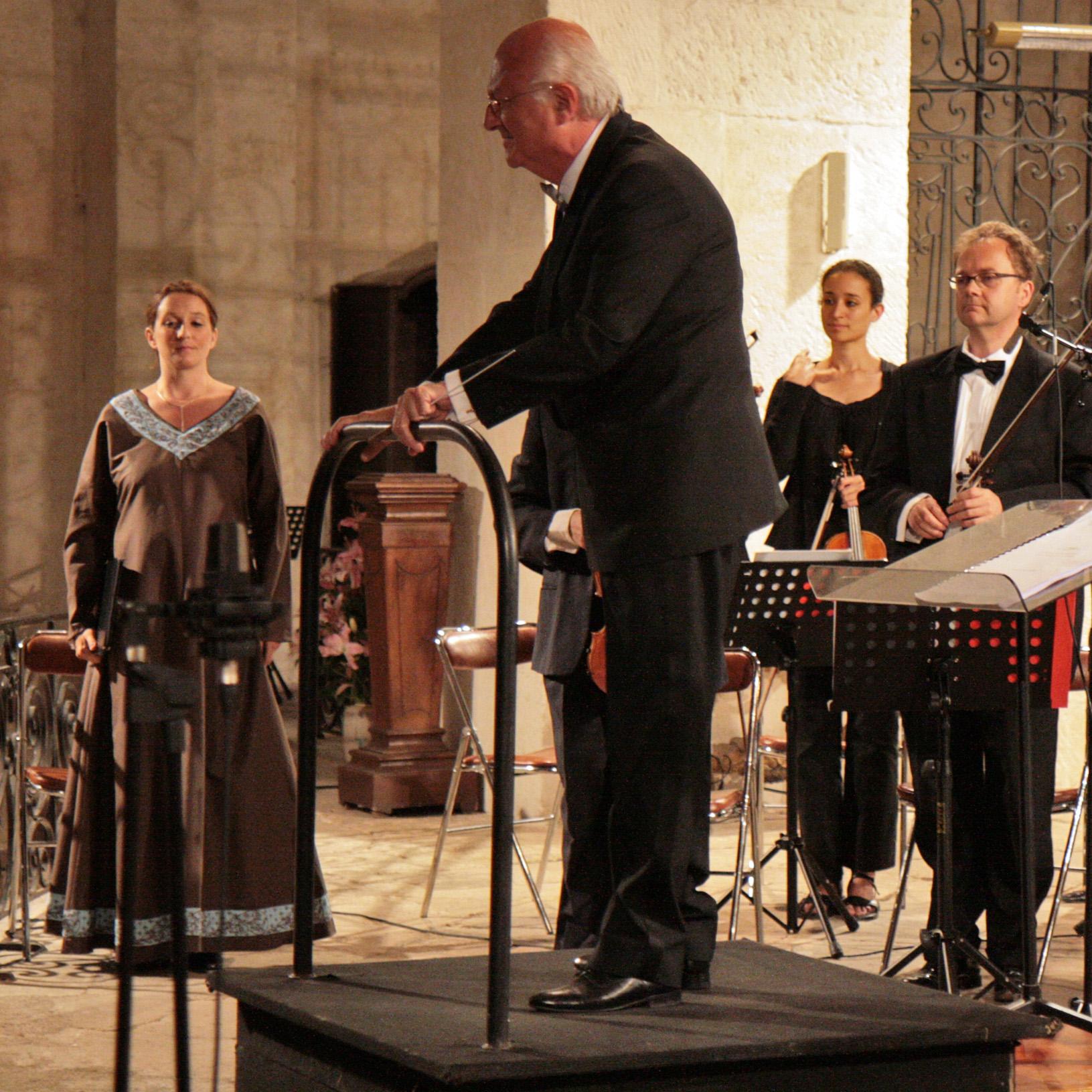Ulrike Van Cotthem avec Vladimir Cosma juin 2009