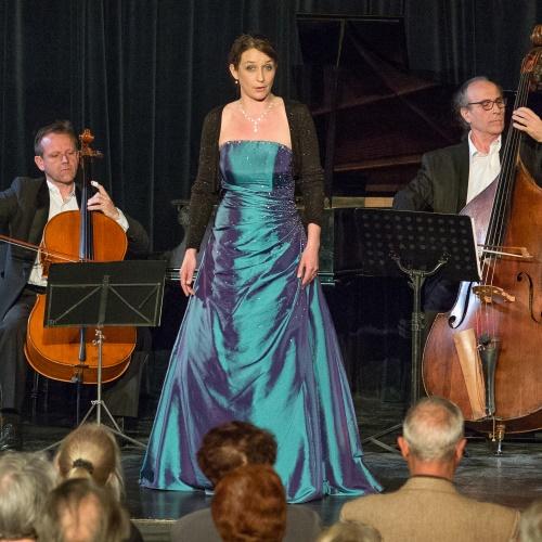 Ulrike Van Cotthem et Trio de Basses